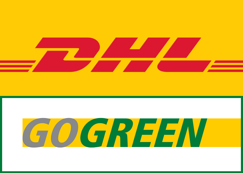 Sicherer Versand via DHL GoGreen